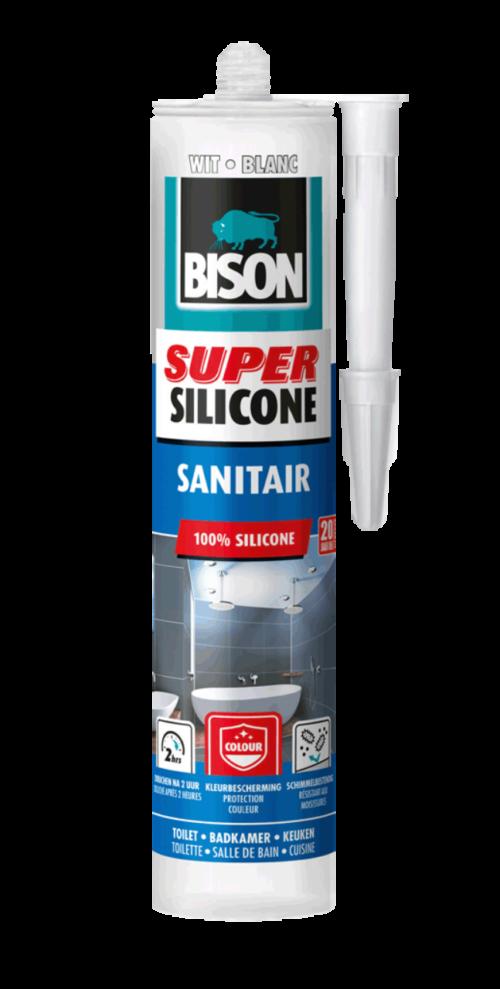 Bison Super silicone sanitair - Onderdelenhuis Veendam